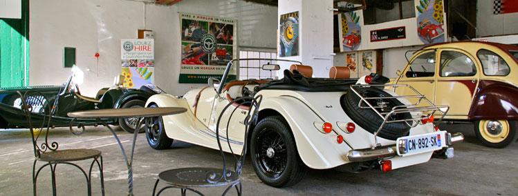 Cross channel sports cars for Garage citroen montaigu