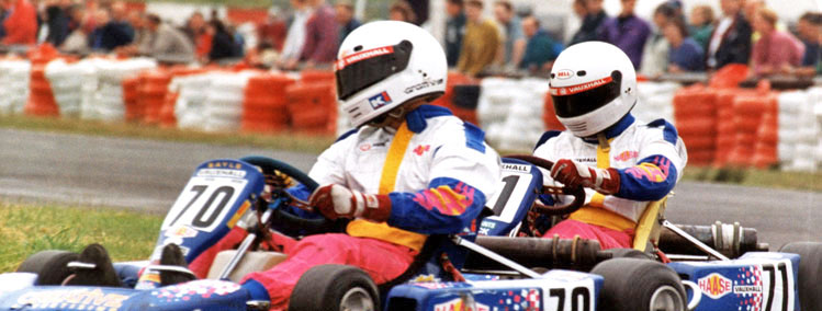 Andy Sayle Super One Karting